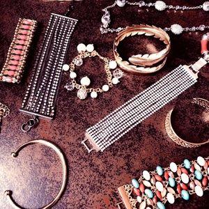 Daily tiny designed bracelets/necklace/rings